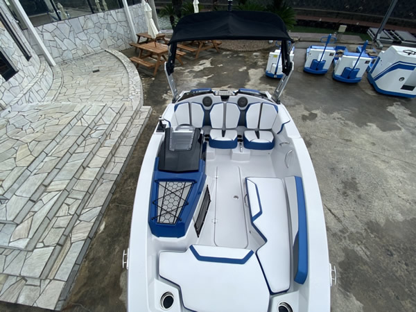 SCARAB 165 HO インパルス ブルー